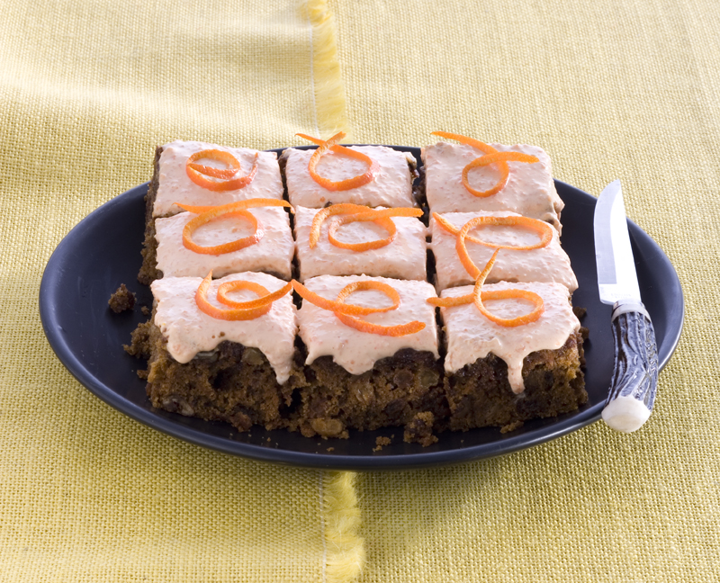 carrotcake & muffins met glazuur