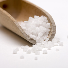 Te zout