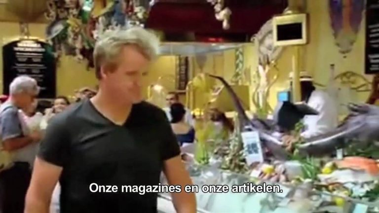 delicious. interviewt Gordon Ramsay
