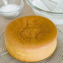Spaanse, luchtige cake