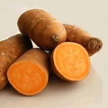 zoete aardappel friet-delicious