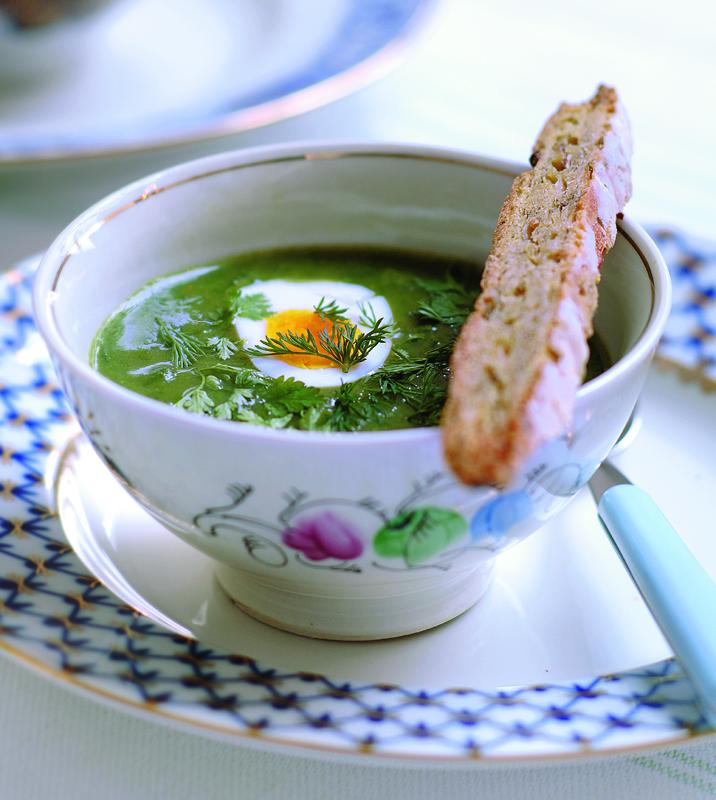 groene borsjtisj – groentesoep