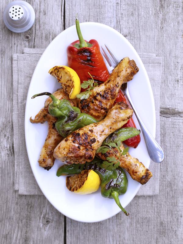 kruidige kip uit Marokko