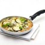 frittata met courgette-delicious