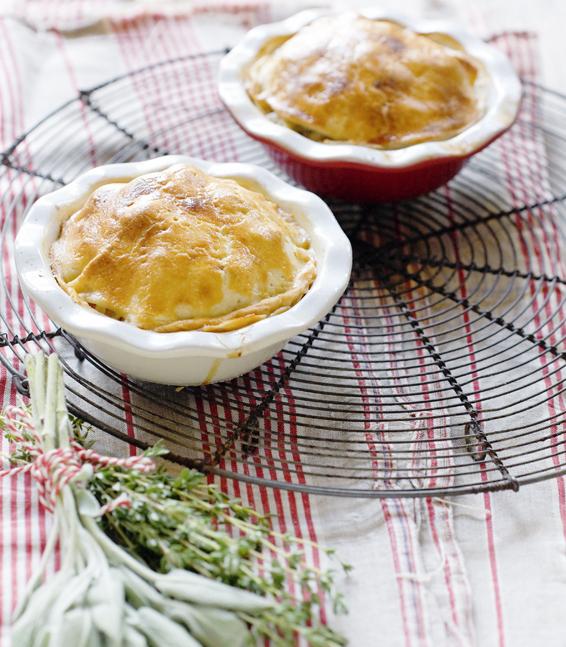 oven aan! Engelse 'apple pork pies'
