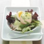 gekookt eitje kruidenmayonaise-delicious