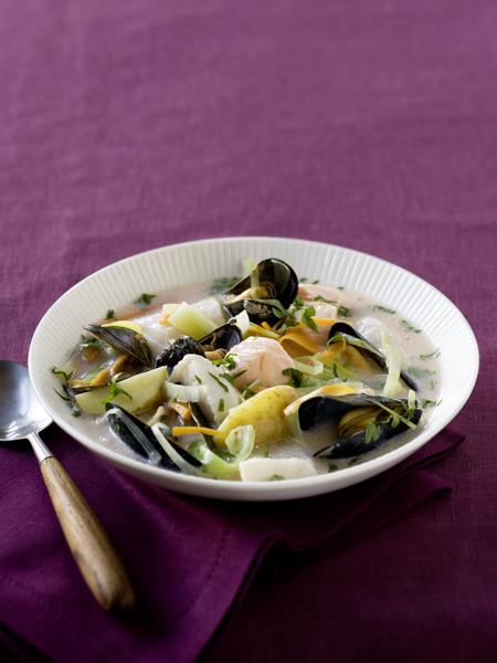 Waterzooi vis mosselen-delicious