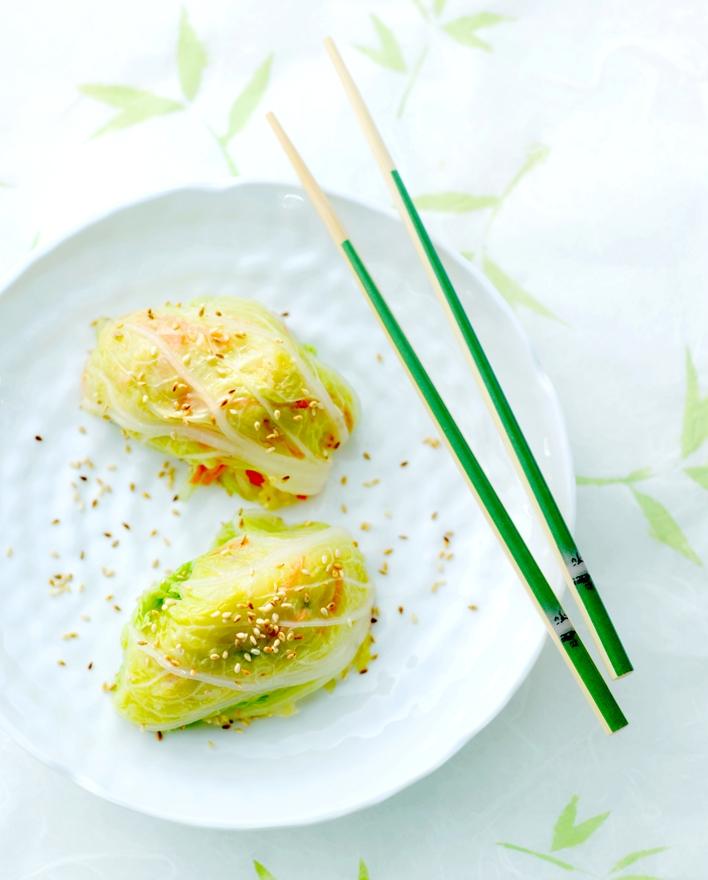 kookvideo #1: gestoomde Aziatische groente