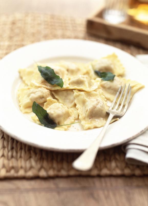 ravioloi met pompoen-delicious