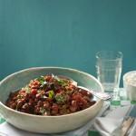 bruine bonen con ragu-delicious