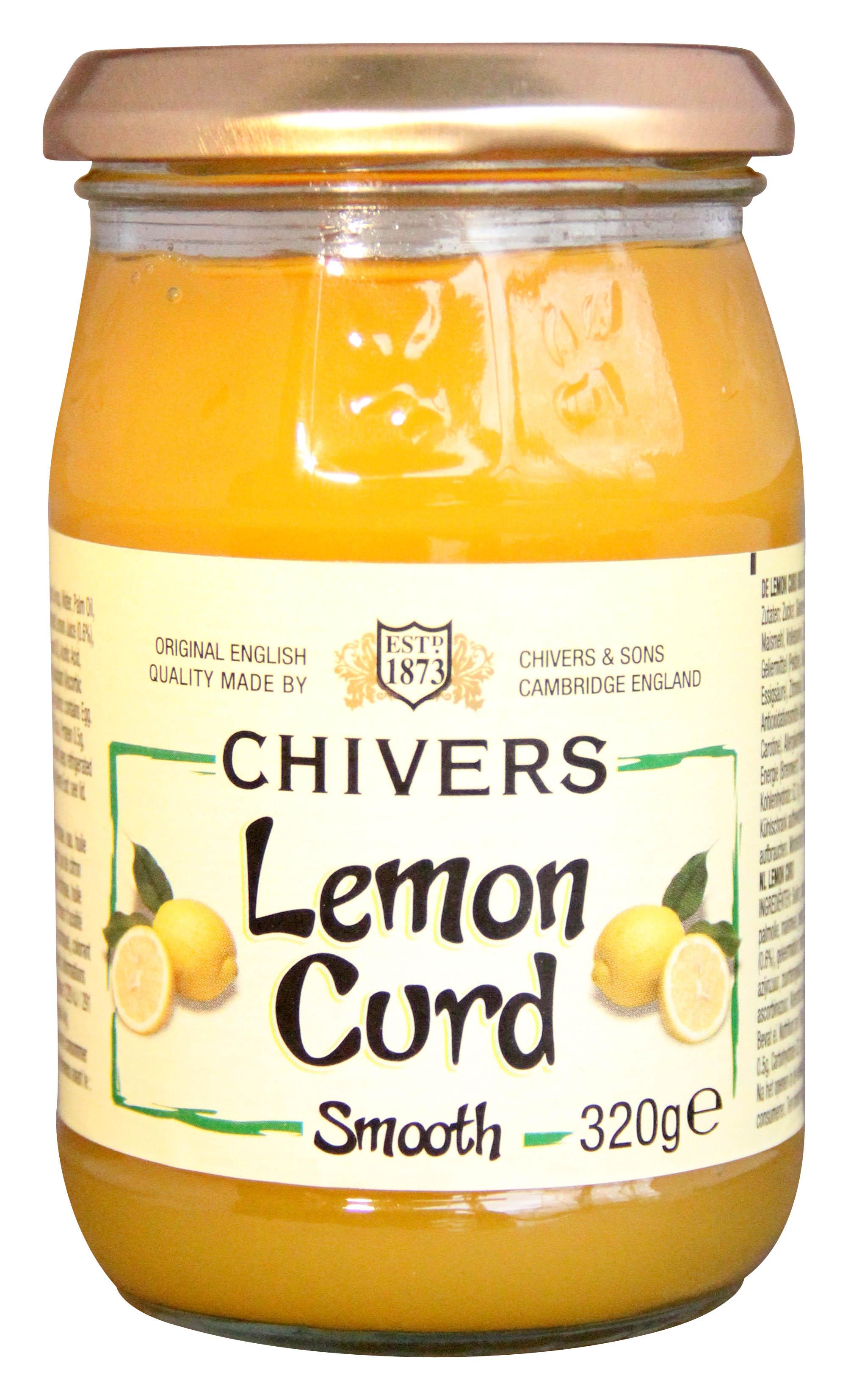 foodbox: Chivers lemoncurd + recept