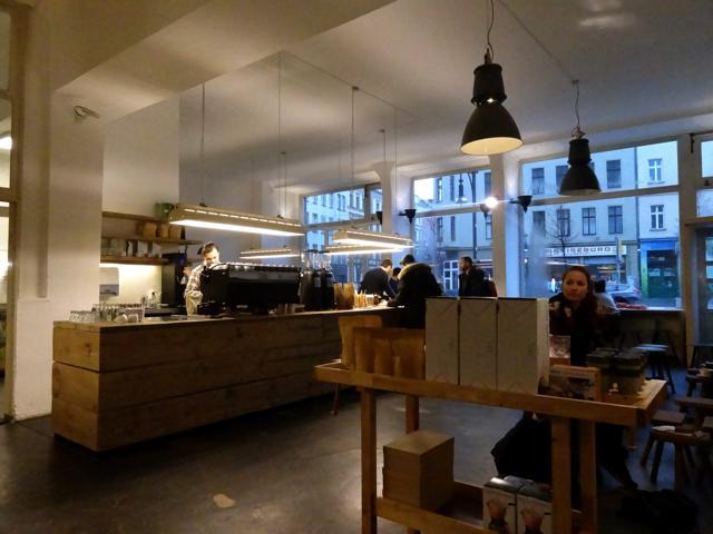 hogere koffiekunde in Berlijn