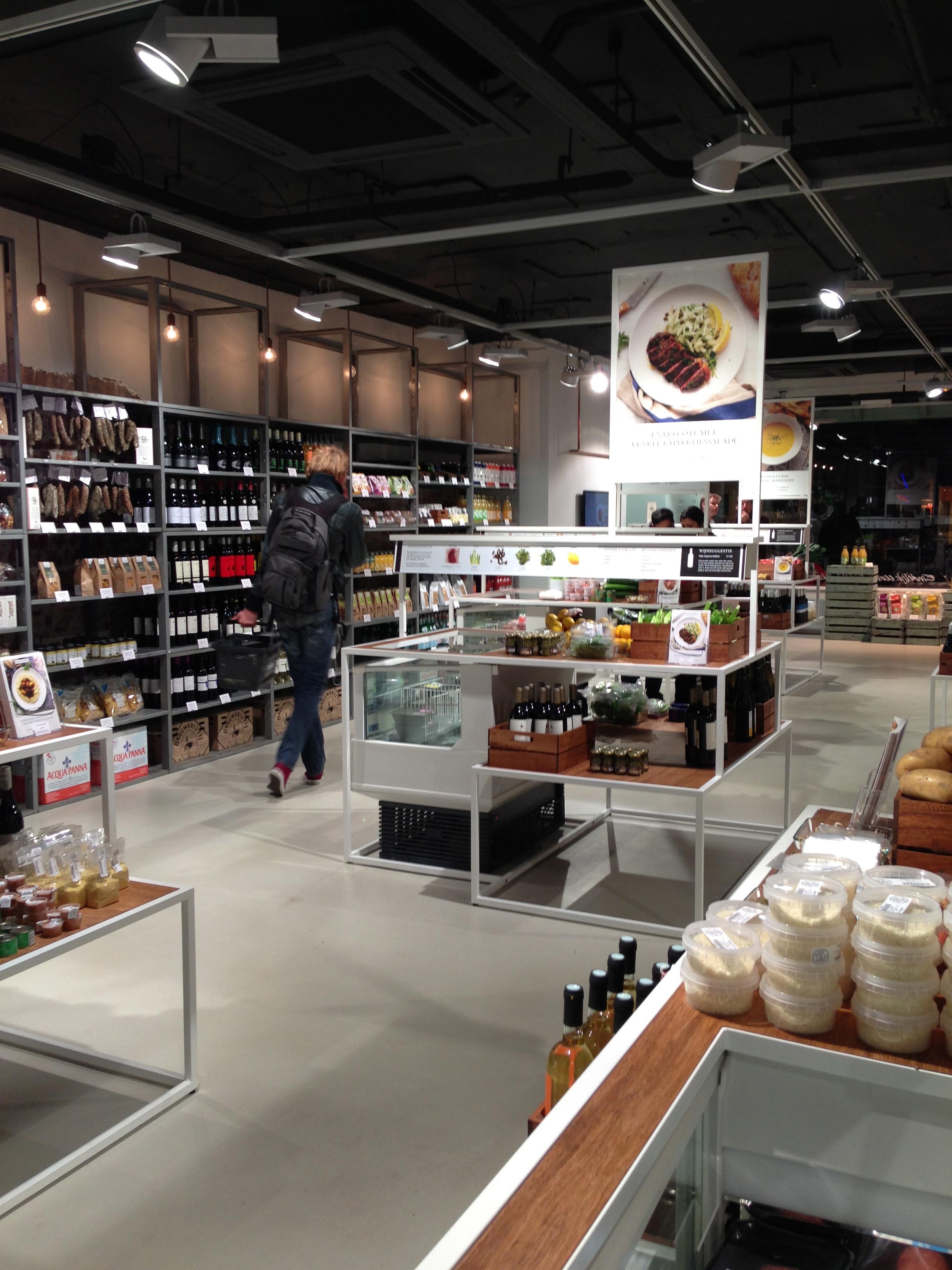 supermarkt van de toekomst, nú in Amsterdam