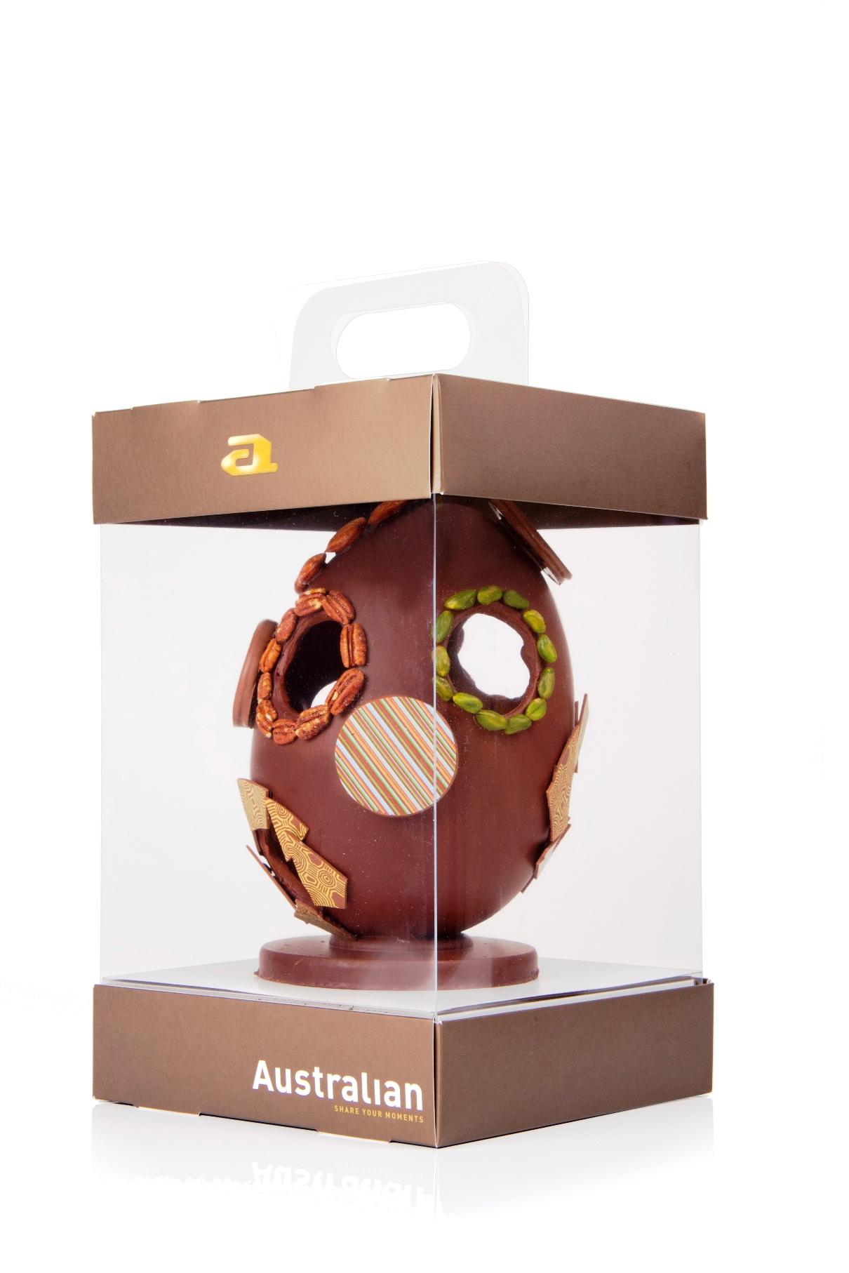 kranen met chocolade