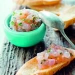 Tartaar van rauwe rivierkreeft - delicious