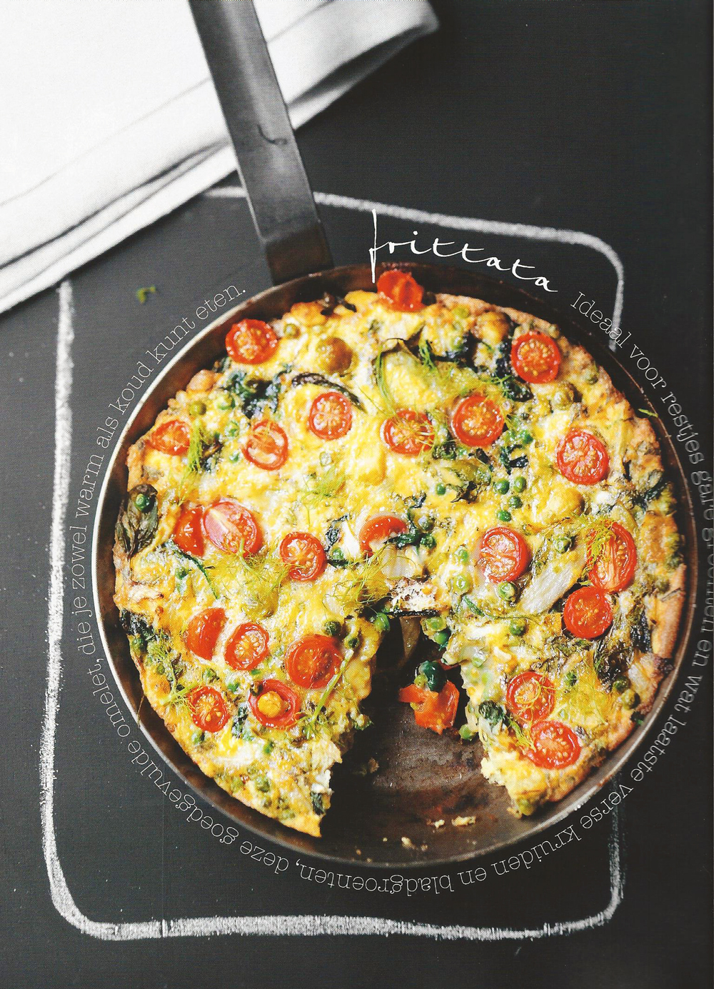 no waste frittata