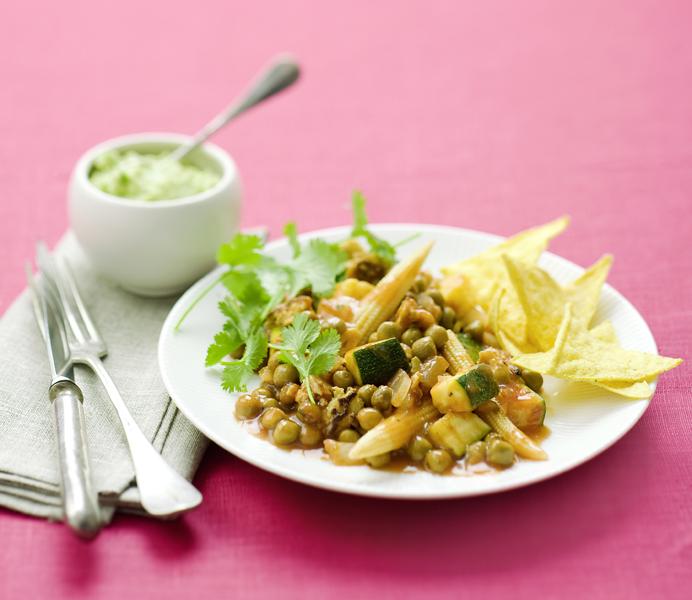 vegetarische chili van velderwtjes en tofu