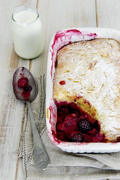 Boerenyoghurtcake bosvruchten - delicious
