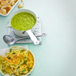 courgette erwtensoep omelet - delicious