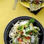 thaise zalmpakketjes noedels paksoi - delicious