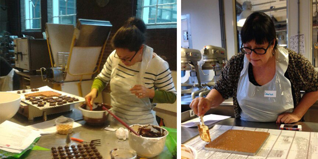delicious. Chocoladeworkshop Suzanne Laurien