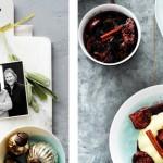 Vanillepuddinkjes met warme vijgen en chocolade - delicious