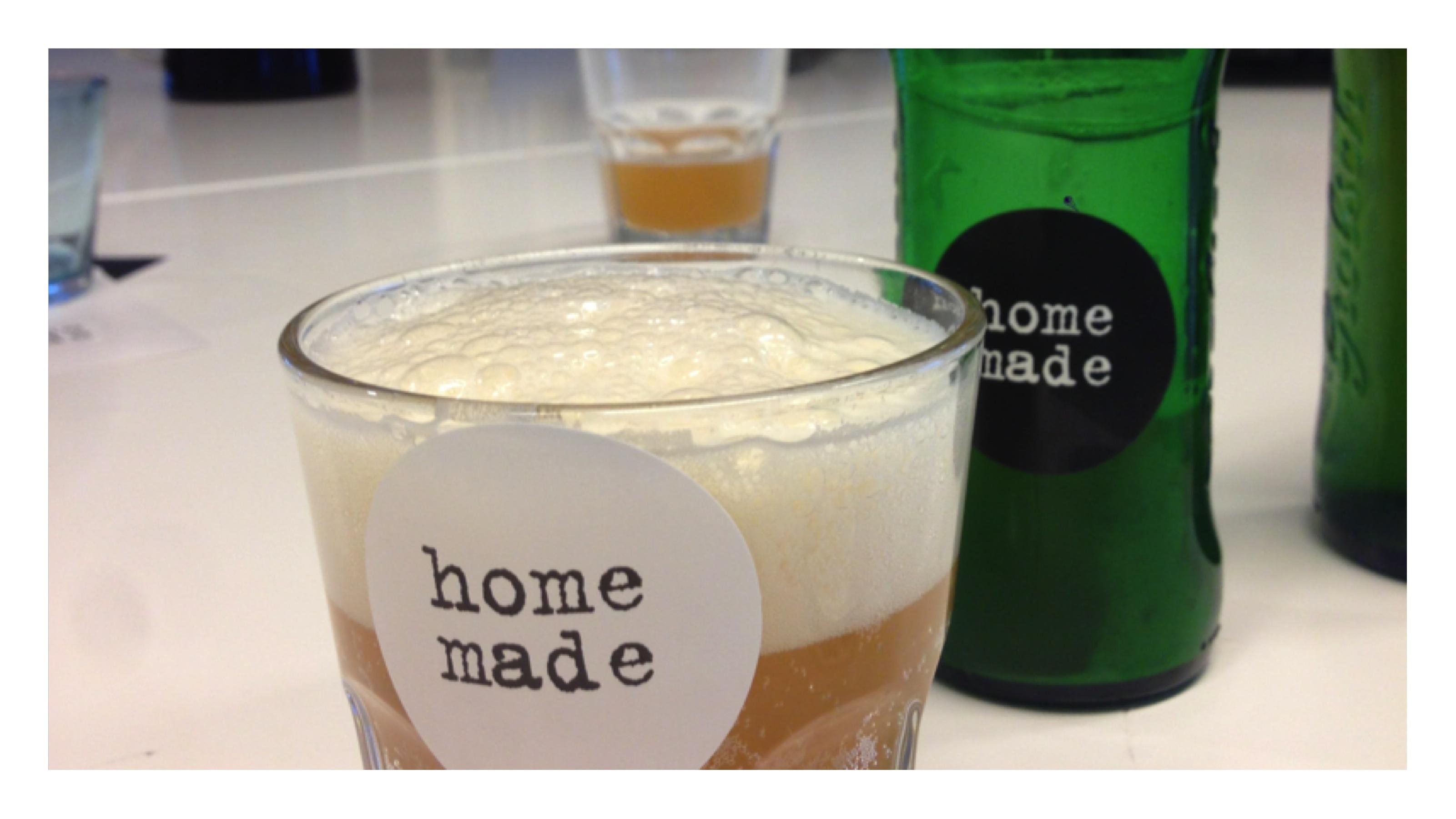 homemade bier met fijne bittertjes
