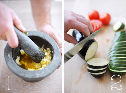 geroosterde groenten