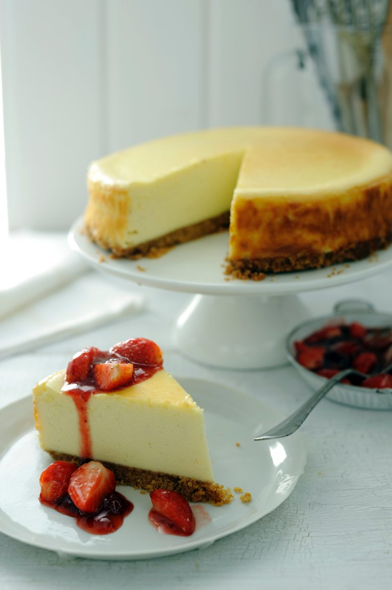 basisrecept cheesecake - delicious