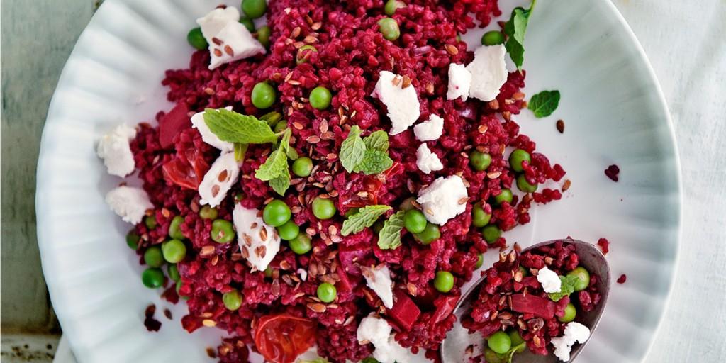 bietenpilav geitenkaas - delicious