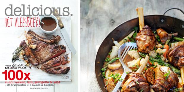 Makkie's favorieten uit delicious. Hét vleesboek