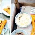 plaattaart mango vanille mascarpone - delicious
