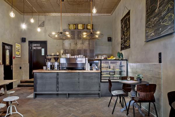 huiselijke koffie bij hometown coffee