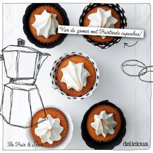 kokos limoen cupcake | delicious
