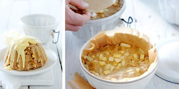 stoompudding met appel en peer