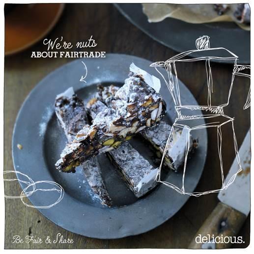 panforte met espresso fairtrade | delicious