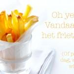friet zelf maken   delicious