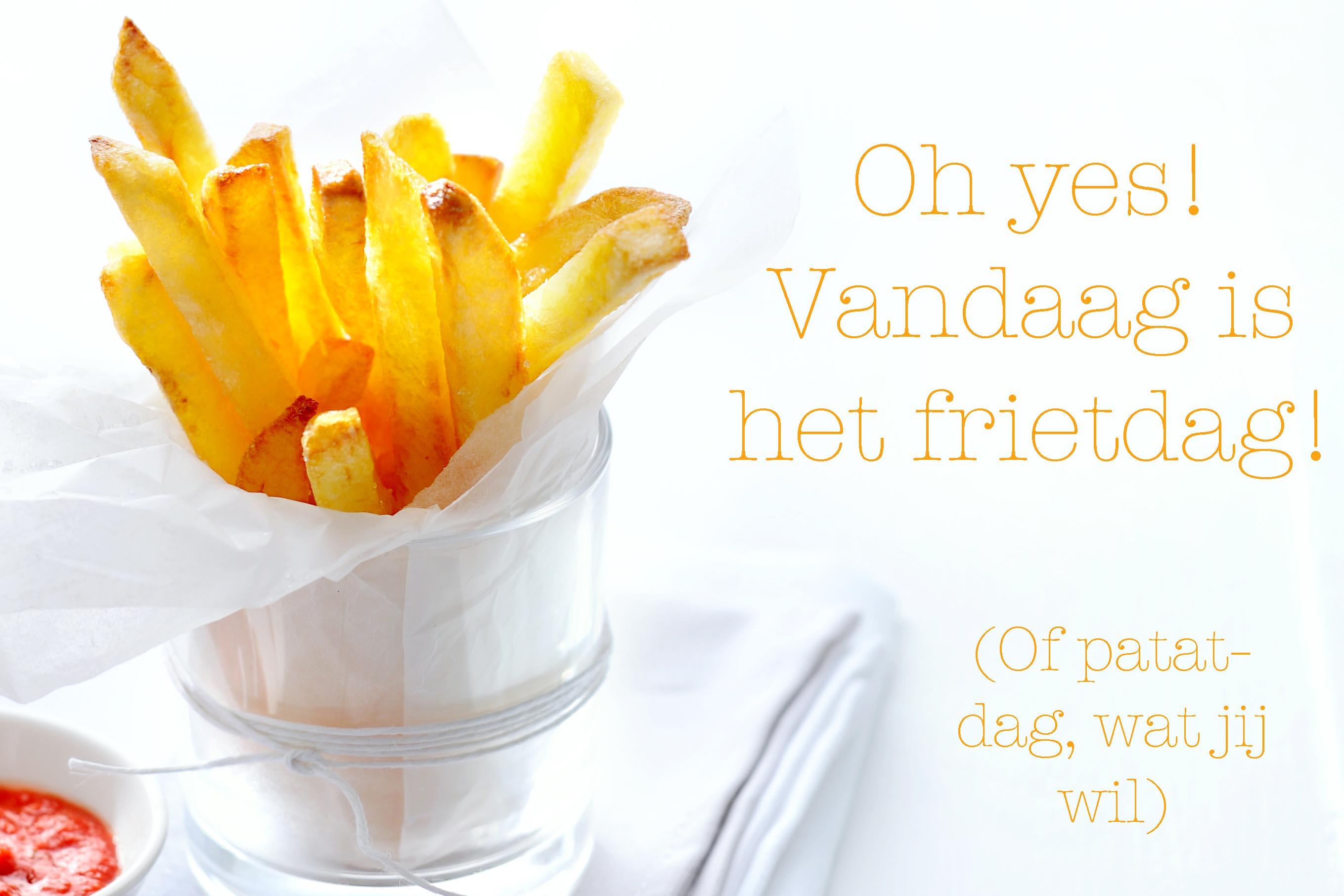 friet zelf maken | delicious