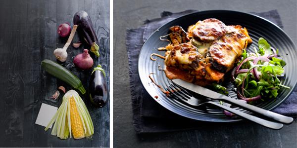 parmigiana van gegrilde groenten
