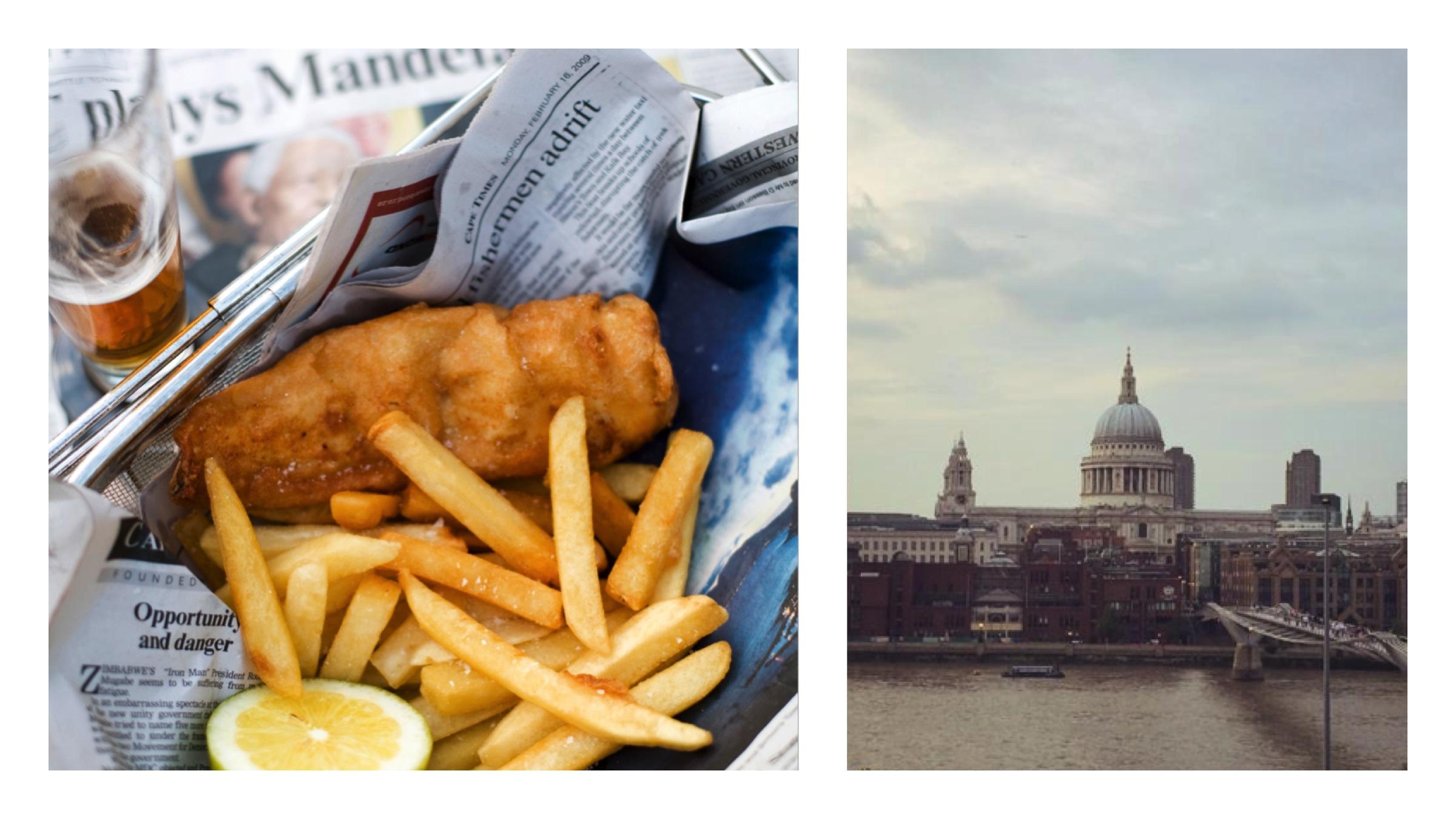 fish & chips uit londen