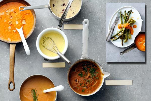 favoriete saus bij gegrilde groenten: romescosaus