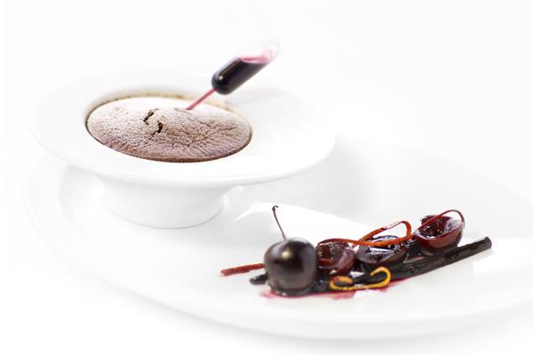 souffle kersen | delicious