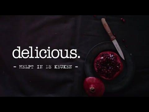 delicious.helpt: granaatappel openen