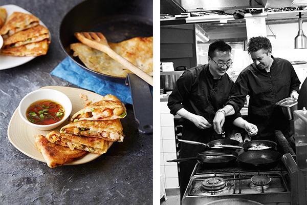 kimchi pajeon – hartige pannenkoekjes