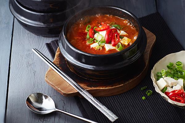 kimchi jjigae – stoofsoep