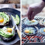 gegrilde portobello avocado | delicious