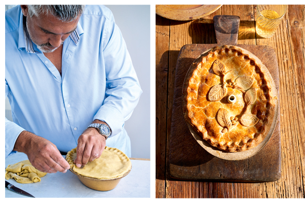 pie-week: pie met varkensvlees, appel en cider