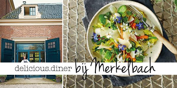 delicious. diner bij Merkelbach