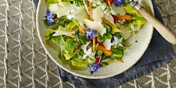 peentjes met tuinbonen en komkommerkruid | delicious