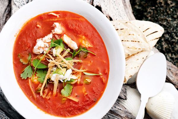 gazpacho met krab | delicious
